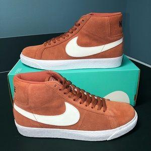 Nike blazer mid sb dusty peach